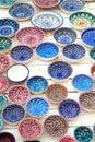 Tunisian plates Royalty Free Stock Photo