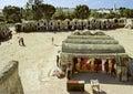 Tunisian storehouses Royalty Free Stock Photo