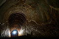 Tunnel background and business concept tunnel with old brick the end of tunnel and concept business successfully mystery tunnel or Stock Photo