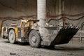Tunnel construction dump truck Royalty Free Stock Photo