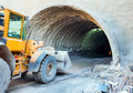 Tunnel Construction Royalty Free Stock Photo