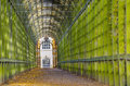 Tunnel garden in London Royalty Free Stock Photo