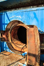 Tunnel industry confined ventilation heat humidity and dust Royalty Free Stock Photography