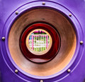 Tunnel for kids to hide Royalty Free Stock Photo