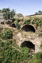 Tunnel of nysa ancient city in aydin turkey was caria now the sultanhisar district aydın province Stock Image