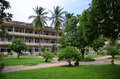 Tuol Sleng Genocide Museum in Phnom Penh, Cambodia Royalty Free Stock Photo