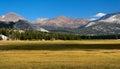 Tuolumne meadows Royalty Free Stock Photo
