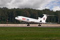 Tupolev Tu-154 jet aircraft Royalty Free Stock Photo