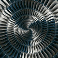 Turbine Blades Wings Spiral Ef...