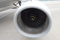 Turbofan engine of airbus a Royalty Free Stock Image