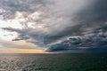 Turbulent stormy sky Royalty Free Stock Photo