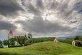 Turf houses beautiful in glaumbaer in iceland Stock Photography
