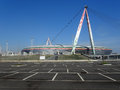 Turin italy march new juventus stadium turin Royalty Free Stock Photo