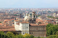 Turin and the Palazzo Reale, Italy Stock Photography