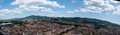 Turin panorama torino from cinema museum tower Royalty Free Stock Photography