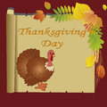 Turkey abstract cute on abstract papyrus paper Royalty Free Stock Image
