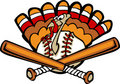 Turkey Baseball Royalty Free Stock Image