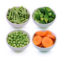 Turkey berry,Momordica charantia fruits,yardlong bean,carrot in Royalty Free Stock Photo
