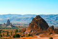 Turkey Cappadocia landscape Royalty Free Stock Photo