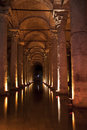 Turkey cistern in istanbul water Stock Photography