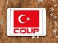 Turkey coup Royalty Free Stock Photo
