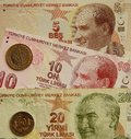 Turkey currency Royalty Free Stock Photography