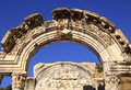 Turkey Ephesus arch Stock Photo