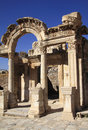 Turkey Ephesus Hadrian's temple Stock Photo