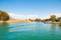 Turkey mountains near the river dalyan Stock Photography