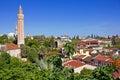 Turkey. The old downtown of Antalya. Yivli minaret Royalty Free Stock Photo