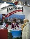 Turkey presentation in Belgrade tourism fair Royalty Free Stock Photo