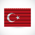 Turkey siding produce business company icon illustration Stock Photography