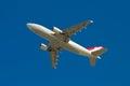 Turkish Airlines flygbuss A310 Fotografering för Bildbyråer