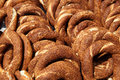 Turkish bagels Stock Photography