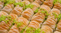 Turkish Baklava Royalty Free Stock Photo