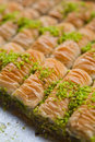 Turkish Baklavas Royalty Free Stock Photo