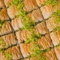 Turkish Baklavas Royalty Free Stock Photo