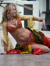 Turkish belly dancer Royalty Free Stock Photography