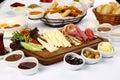 Turkish Breakfast Plate Royalty Free Stock Photo