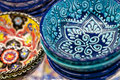 Turkish ceramic art Royalty Free Stock Photo