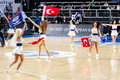 Turkish cheerleaders Royalty Free Stock Photos