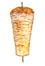 Turkish chicken doner kebab. Royalty Free Stock Photo