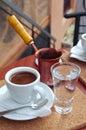 Turkish coffee Royalty Free Stock Photo