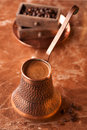 Turkish Coffee Pot Royalty Free Stock Photo