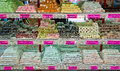 Turkish delight assortment in a shop in turkey Royalty Free Stock Image