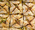 Turkish delight baklava pic of Royalty Free Stock Photo