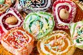 Colorful turkish delight