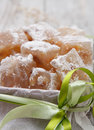 Turkish delight (rahat lokum) Stock Photos