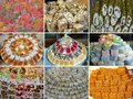 Turkish delight sweet taste delicious Royalty Free Stock Photo