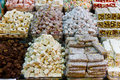Turkish delights in spice bazaar Stock Photography
